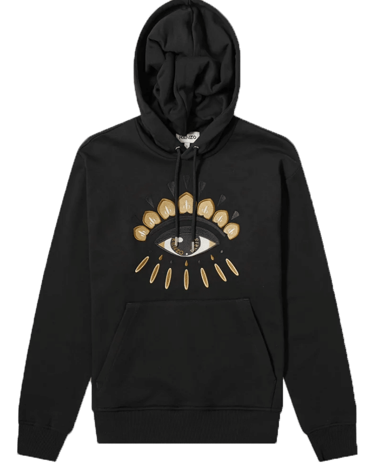 SWEAT CAPUCHE EYE CLASSIC HOODIE COL BLACK copie
