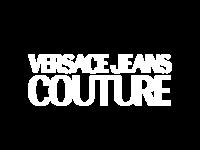Logo versace couture blanc